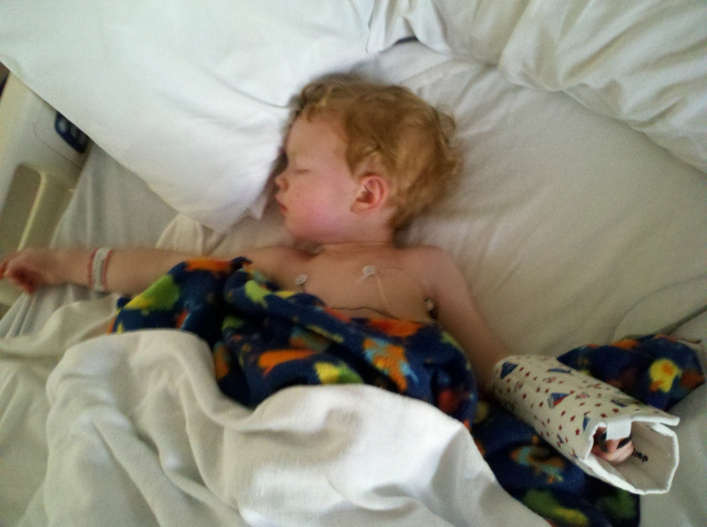 Emergency Hernia Surgery for our Two-Year-Old