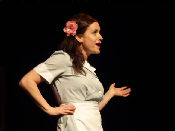 Jessie the Waitress. Photo by Pete Keith of Laneboro Community Theater.