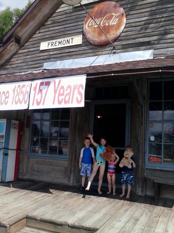 The Fremont Store: Our stop for a cool drink and a little slice of community history.