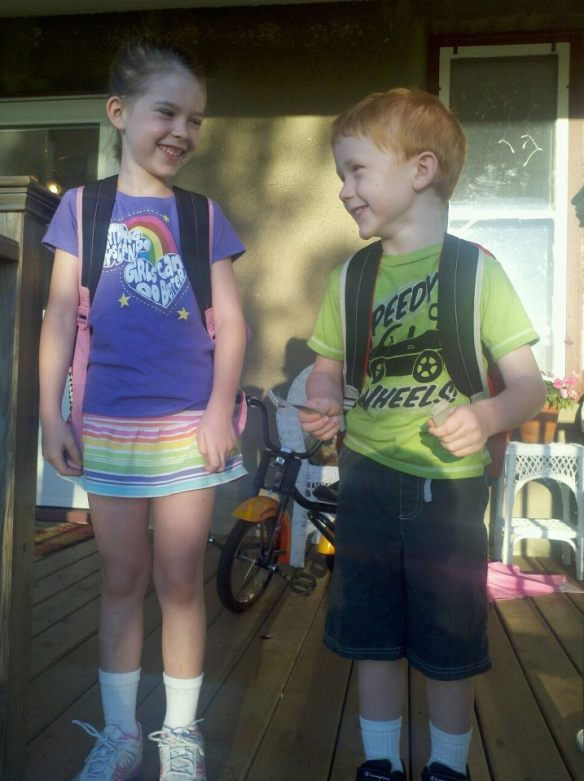 First day of school, 2012.